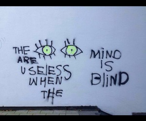 eyes, quote, and blind image