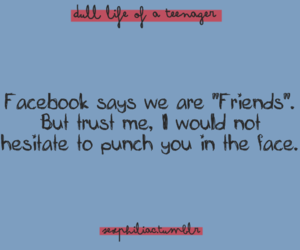 facebook, personal, and quote image