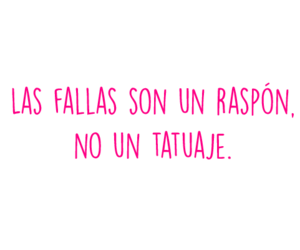 fallas, frases en español, and quote image