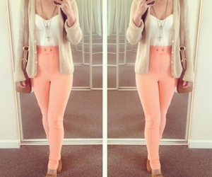 clothes, high waisted, and outfit image
