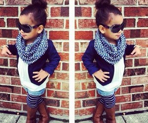 clothes, little girl, and outfit image