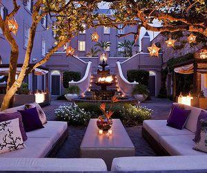 house, light, and luxury image