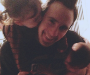 josh, best dad, and family love image