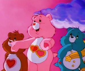 cartoon, care bears, and carebears image