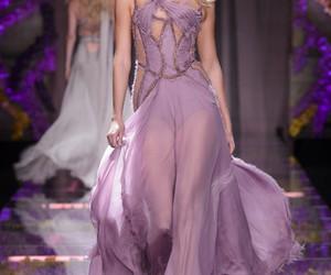 dress, paris, and fashion image