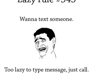 h and lazy rule image