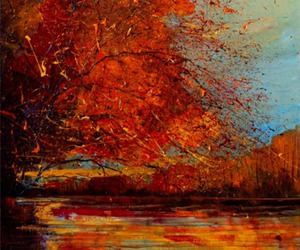 art, autumn, and fall image