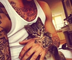 boys, boys with tattoos, and inked boys image
