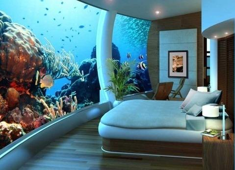 Awesome Cool Room Sea Water Favim Light