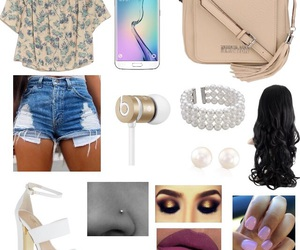 jewelry, nails, and Polyvore image