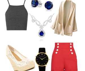 accessories, cardigans, and diamonds image