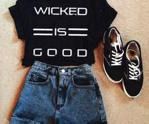 good, black, and outfit image