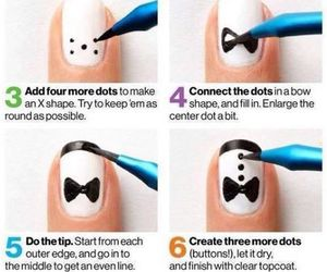 nails and tux image