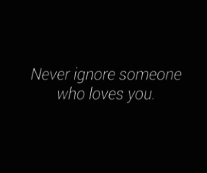 ignore, inspire, and loves image