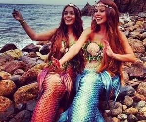mermaid, vanessa hudgens, and ocean image