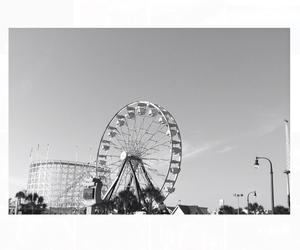amazing, amusement park, and black image