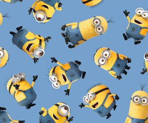 wallpaper, minions, and background image