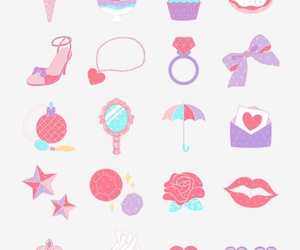 background, bows, and fun image