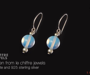 earrings, jewelry, and silver image