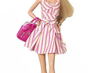 barbie, doll, and pink image