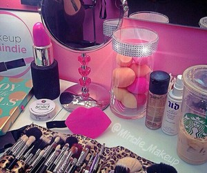 glam, girly stuff, and makeup artist image
