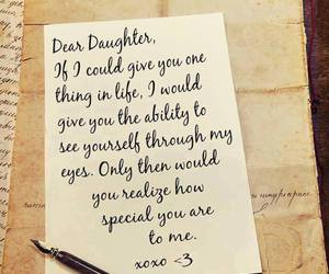 daughter and love image