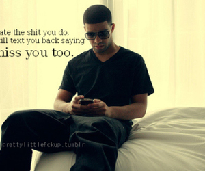Drake, quote, and Lyrics image