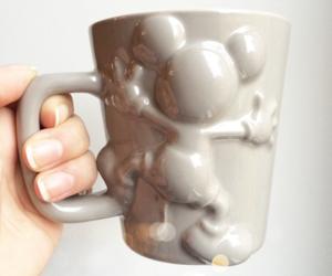 mickey, mickey mouse, and mug image