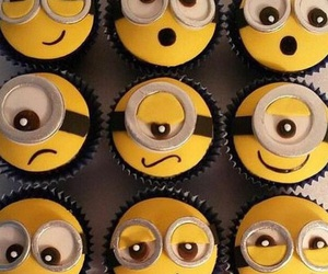 cupcakes, add more tags, and minions image
