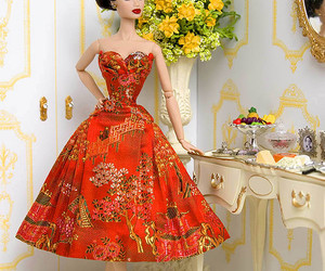 ballgown, by, and dolls image