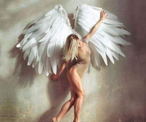 angel, white, and fitness image