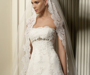 bridal, dress, and gowns image