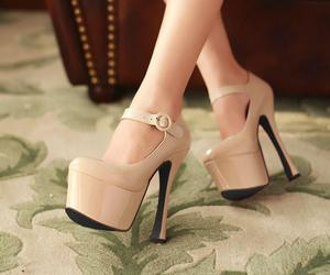 beauty, shoes, and fashion shoes image