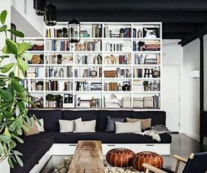interior, book, and design image