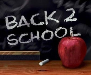 school and back 2 school image