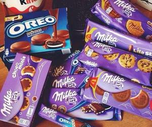 oreo, milka, and chocolate image