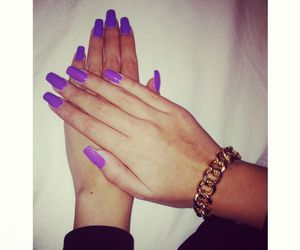 bracelet, nails, and cool image