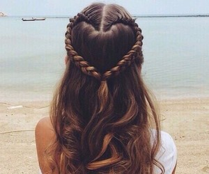 girl, hair, and hair style image