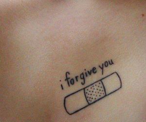 tattoo and forgive image