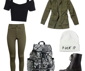 backpack, cool, and fashion image