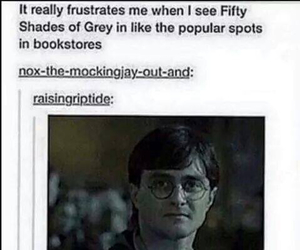 harry potter, books, and funny image