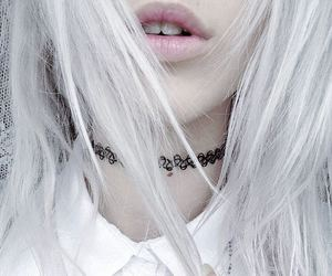 lips, pale, and girl image