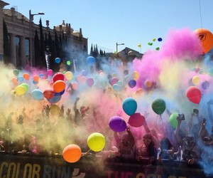 balloons, colours, and adrenaline image