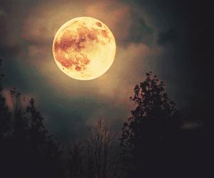 huge, indie, and moon image