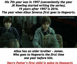 harry potter, jkrowling, and albus severus potter image