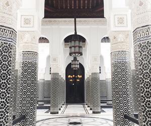 architecture, white, and interior image
