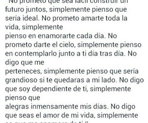 frases de amor, frases tumblr, and notas image