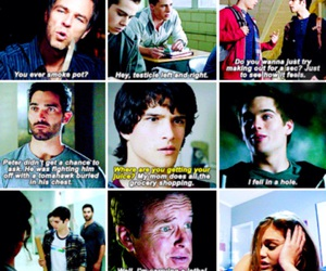 derek, funny, and isaac image
