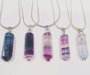 crystal, necklace, and colors image