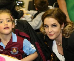 Christmas party, 2011, and lisa marie presley image